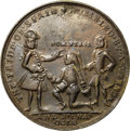Betts Medals, 1741 Admiral Vernon Medal, Cartagena, -- Damaged -- NGC Details.AU. Betts-Unlisted, Adams CAvlo 1-B, R.5.. ...