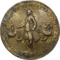 Betts Medals, 1741 Admiral Vernon Medal, Cartagena, VF30 NGC. Betts-332, AdamsCAv 2-B, R.5.. ...