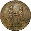 Betts Medals, 1741 Admiral Vernon Medal, Cartagena, -- Scratches -- NGC Details.XF. Betts-318, Adams CAvo 3-D, R.5.. ...