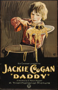 """Movie Posters:Drama, Daddy (First National, 1923). Trimmed One Sheet (25"""" X 39"""").Drama.. ..."""