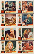 """Movie Posters:Bad Girl, Blonde Sinner (Allied Artists, 1956). Lobby Card Set of 8 (11"""" X14""""). Bad Girl.. ... (Total: 8 Items)"""