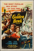 "Movie Posters:Action, The Golden Hawk & Others Lot (Columbia, 1952). One Sheets (3)(27"" X 41""), Half Sheet (22"" X 28""), Lobby Cards (3) (11"" X 14...(Total: 15 Items)"