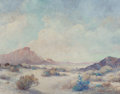 Texas:Early Texas Art - Regionalists, FREDERICK JARVIS (American, 1868-1944). West Texas Desert.Oil on canvas. 22-1/8 x 28-1/8 inches (56.2 x 71.4 cm). Signe...