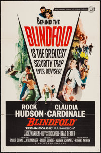 """Blindfold & Others Lot (Universal, 1966). One Sheets (5) (27"""" X 41"""") Regular and Style A. Thriller..."""