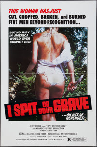 "I Spit on Your Grave (Cinemagic Pictures, 1978). One Sheet (27"" X 41""). Horror"