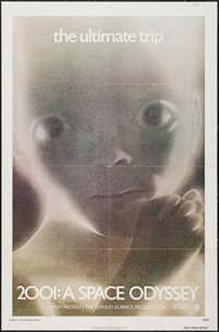 """2001: A Space Odyssey (MGM, R-1981). One Sheet (27"""" X 41""""). Science Fiction"""