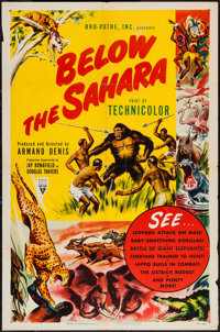 "Below the Sahara & Other Lot (RKO, 1953). One Sheets (2) (27"" X 41""). Documentary. ... (Total: 2 Items..."