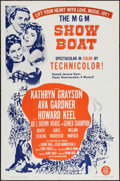 "Movie Posters:Musical, Show Boat (MGM, 1951 & R-1963). One Sheet (27"" X 41"") & Program (4 Pages, 10"" X 13""). Musical.. ... (Total: 2 Items)"
