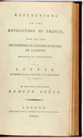 Books:World History, Edmund Burke. Reflections on the Revolution in France and on theProceedings in Certain Societies in London Relative to ...