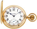 Timepieces:Pocket (post 1900), Illinois Very Rare 23 Jewel 18 Size Gold Bunn Special Model 5 Hunters Case, circa 1910. ...