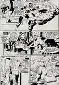 "Original Comic Art:Panel Pages, Neal Adams and Bernie Wrightson Green Lantern #84 ""Peril inPlastic"" Page 17 Original Art (DC, 1971)...."