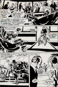 "Original Comic Art:Panel Pages, Neal Adams and Bernie Wrightson Green Lantern #84 ""Peril inPlastic"" Page 16 Original Art (DC, 1971)...."