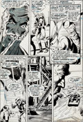 "Original Comic Art:Panel Pages, Neal Adams and Bernie Wrightson Green Lantern #84 ""Peril inPlastic"" Page 18 Original Art (DC, 1971)...."
