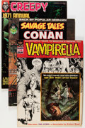 Magazines:Miscellaneous, Assorted Bronze Age Comics Magazines Group (Various Publishers,1970s) Condition: Average FN.... (Total: 22 Comic Books)