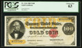 Large Size:Gold Certificates, Fr. 1214 $100 1882 Gold Certificate PCGS Choice New 63.. ...