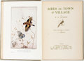 Books:Natural History Books & Prints, W.H. Hudson. Birds in Town and Village. Illustrations by E.J. Detmold. London: J.M. Dent, 1919. Publisher's green cl...