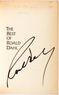Books:Literature 1900-up, Roald Dahl. SIGNED. The Best of Roald Dahl. New York:Vintage Books, [1978]. First edition, first printing. Signed...
