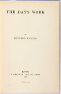 Books:Literature Pre-1900, Rudyard Kipling. The Day's Work. London: Macmillan, 1898.First edition. Publisher's blue cloth. Spine ends and corn...