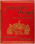 """Books:Art & Architecture, John Leech's Pictures of Life and Character. From the Collection of """"Mr. Punch."""" London: Bradbury, Agnew, 1887. Large qu..."""