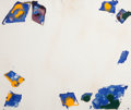 Prints:Contemporary, SAM FRANCIS (American, 1923-1994). Untitled, 1977. Uniquemonotype with dry pigments, inks, and Windsor Newton oils on h...