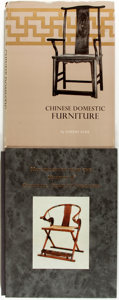 Books:Furniture & Accessories, [Chinese Furniture]. Pair of Decorative First Edition Books aboutChinese Furniture. Various publishers and dates. Large qua...(Total: 2 Items)