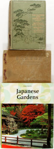 Books:Natural History Books & Prints, [Japanese Gardens]. Group of Three Books about Japanese Gardens andFlowers. Various publishers and dates. One oblong twelve... (Total:3 Items)