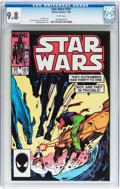Modern Age (1980-Present):Science Fiction, Star Wars #101 (Marvel, 1985) CGC NM/MT 9.8 White pages....