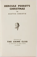 Books:Mystery & Detective Fiction, Agatha Christie. Hercule Poirot's Christmas. London: TheCrime Club, [1939]. First edition. Publisher's red cloth. S...