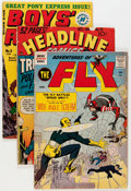 Golden Age (1938-1955):Miscellaneous, Golden to Bronze Age Joe Simon and Jack Kirby Related Comics Group (Various Publishers, 1950s-70s) Condition: Average VG.... (Total: 22 Comic Books)