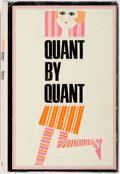 Books:Biography & Memoir, Mary Quant. Quant by Quant. New York: G.P. Putnam's, [1966].First American edition. Publisher's black cloth with or...