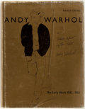 Books:Art & Architecture, Andy Warhol: A Picture Show by the Artist. Text by Rainer Crone. New York: Rizzoli, [1987]. First edition. Quarto. Publi...