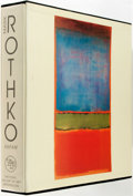 Books:Art & Architecture, Mark Rothko. Text by David Anfam. New Haven: Yale University Press, [2001]. Later printing. Thick quarto. Publisher's cl...