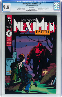 John Byrne's Next Men #21 (Dark Horse, 1993) CGC NM+ 9.6 White pages
