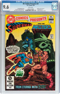 Modern Age (1980-Present):Superhero, DC Comics Presents #47 Superman and He-Man (DC, 1982) CGC NM+ 9.6White pages....