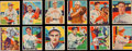 Baseball Cards:Sets, 1934-36 R327 Diamond Stars Partial Set (27 Different) With Stars & HoFers. ...