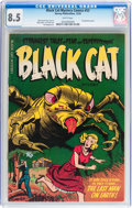 Golden Age (1938-1955):Horror, Black Cat Mystery #53 (Harvey, 1954) CGC VF+ 8.5 White pages....