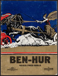 "Movie Posters:Historical Drama, Ben-Hur (MGM/Parufamet, 1926). German Program (16 Pages, 9"" X 12"").Historical Drama.. ..."