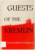 Books:Biography & Memoir, Robert G. Emmens. INSCRIBED. Guests of the Kremlin. NewYork: Macmillan, 1949. Inscribed by the author in 1957. Octa...