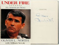 Books:Biography & Memoir, Oliver L. North with William Novak. SIGNED. Under Fire: AnAmerican Story. New York: Harper Collins, Zondervan, [199...