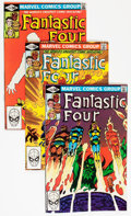 Modern Age (1980-Present):Superhero, Fantastic Four Group (Marvel, 1981-84) Condition: Average NM....(Total: 65 Comic Books)