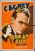 """Movie Posters:Drama, Great Guy (Grand National, 1936). One Sheet (28"""" X 41""""). Drama.. ..."""