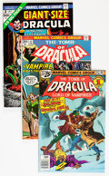 Bronze Age (1970-1979):Horror, Tomb of Dracula Group (Marvel 1974-77) Condition: Average FN....(Total: 19 Comic Books)