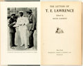 Books:Biography & Memoir, [T.E. Lawrence]. David Garnett, editor. The Letters of T.E.Lawrence. New York: Doubleday Doran, 1939. First edition...