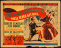 """Movie Posters:Musical, You'll Never Get Rich (Columbia, 1941). Half Sheet (22"""" X 28""""). Musical.. ..."""