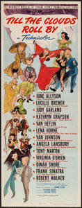 "Movie Posters:Musical, Till the Clouds Roll By (MGM, 1946). Insert (14"" X 36""). Musical.. ..."