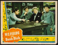 "Movie Posters:Comedy, The Bank Dick (Universal, 1940). Lobby Card (11"" X 14""). Comedy.. ..."
