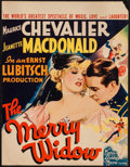 """Movie Posters:Musical, The Merry Widow (MGM, 1934). Trimmed Window Card (14"""" X 18""""). Musical.. ..."""