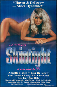 """Skintight & Others Lot (Moving Pics Co., 1981). One Sheets (9) (27"""" X 41""""). Adult. ... (Total: 9 Items..."""