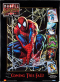 Memorabilia:Trading Cards, Marvel Uncut Trading Cards Sheet and Signed Limited Edition PosterGroup (Marvel, 1990-92).... (Total: 2 Items)