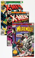 Bronze Age (1970-1979):Horror, Werewolf by Night and X-Men - Savannah pedigree Group (Marvel,1975-76) Condition: Average VF+.... (Total: 3 Comic Books)
